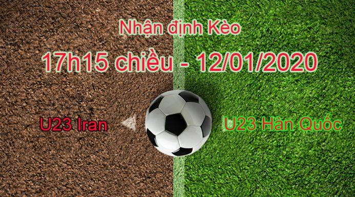 Soi kèo U23 Iran vs U23 Hàn Quốc – 12/01/2020 – VCK U23 châu Á 2020