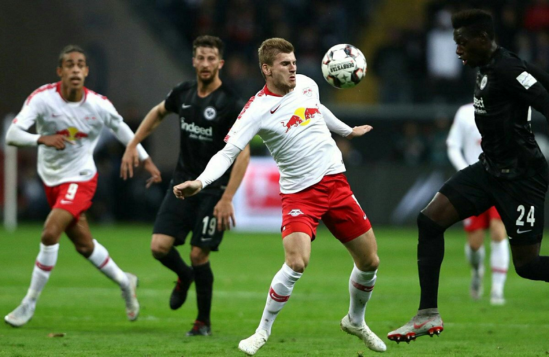 Nhận định trận đấu giữa Frankfurt - Leipzig 21h30' 25/01/2020