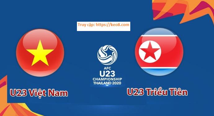 Soi kèo bóng U23 Việt Nam vs U23 Triều Tiên ngày 16/01/2020, 20h15